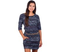 Tanya Print Dress navy