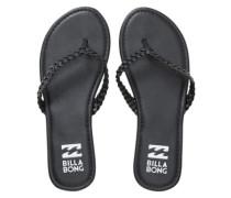 Beach Braid Sandals Women black