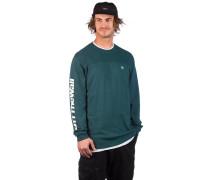 Pieced Distorted Sweater trekking green