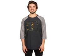 50/50 Florimoto Stack T-Shirt LS blackout lt heather