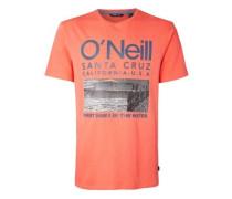 Surf T-Shirt mandarine