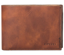 Handcrafted Slim Wallet brown