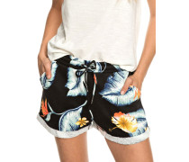 Trippin Printed Shorts Shorts anthracite tropical love