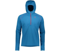 Defined Mid Fleece Pullover mykonos blue