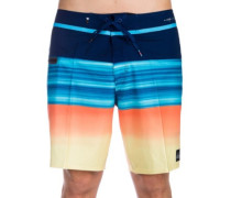 "Highline Hold Down Vee 18"" Boardshorts estate blue"