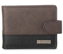 Clip Pu All Day Wallet brown
