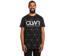 T-Shirt black polygon