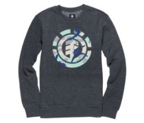 Spirit Camo Crew Sweater charcoal heathe