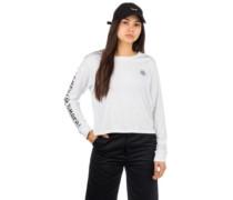 Timber Crop Long Sleeve T-Shirt white