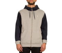 Sngl Stone Lined Zip Jacket grey