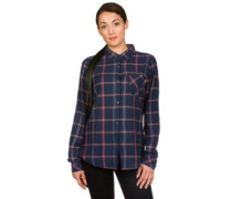 Grace Shirt LS mood indigo bonfire