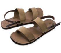Stone Slide Sandals Women caramel