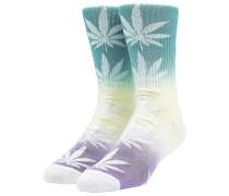 Plantlife Gradient Dye Socks aqua