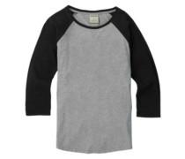Caratunk Raglan T-Shirt LS gray heather