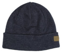 The Harbor Beanie heather navy