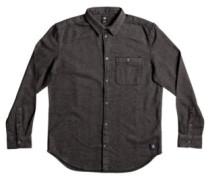 Embleton Shirt LS charcoal heather
