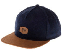Woodford Snap Back Cap indigo