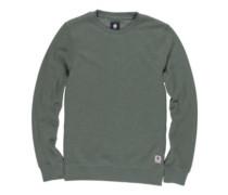 Cornell Overdye Crew Sweater duck green