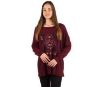 Magical Winter T-Shirt LS mystic maroon