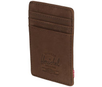 Raven Wallet nubuck brown