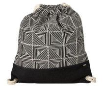 Jacquard Stroll Bag black aop