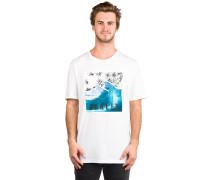 50-Palm Waves T-Shirt white