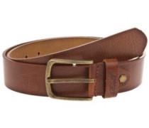 Narrow Belt vintage brown