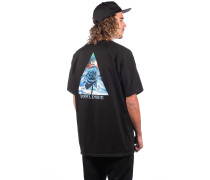 Ice Rose Triangle T-Shirt black