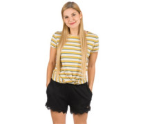 Leona Stripe T-Shirt brown