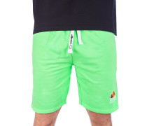 Barbados Overdyed Boardshorts neon green