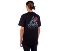 Broken Roses T-Shirt black