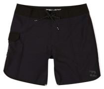"""73 X Short 17"""" Boardshorts black"""