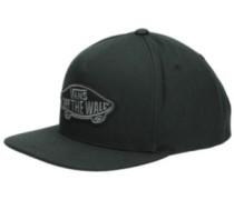 Classic Patch Snapback Cap black