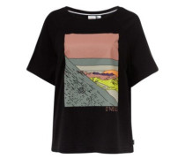 Azure T-Shirt black out