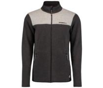 Piste Full Zip Fleece Jacket dark grey melee