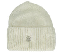 The Buoy Beanie wool white