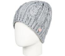 Glacialis Beanie warm heather grey