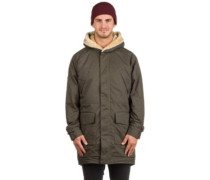 Thornton Parka Jacket black olive