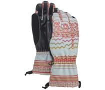 Profile Gloves aqua gray revl print