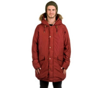 Garrison Down Jacket fired brick