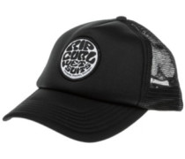 Wetty Curved Trucker Cap black