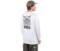 Screaming Bat Long Sleeve T-Shirt antique white