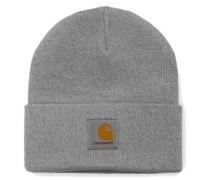 Short Watch Hat grey heather