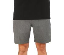 "Phantom 18"" Shorts black heather"