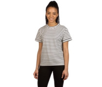 Surry Stripe T-Shirt navy blue