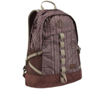Shackford Backpack bracken bambara print