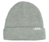 Fold Heather Beanie white