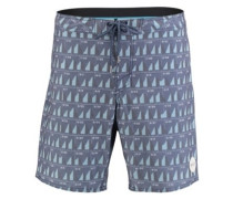 Jeff Canham Boardshorts blue aop