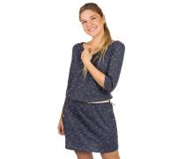 Tanya Organic Dress navy