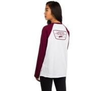 Full Patch Raglan T-Shirt burgundy